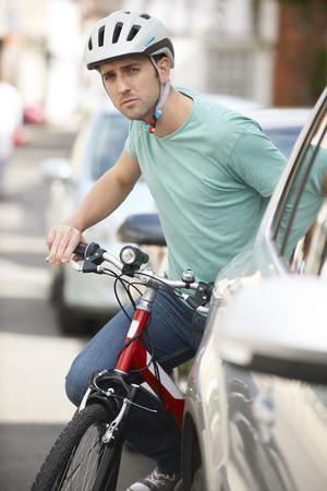 ciclismo: Ciclismo joven pareja en Campo