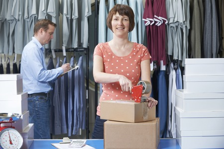 Online Business: Couple Running Online Clothing Business