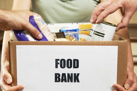 Making Donations To Food Bank