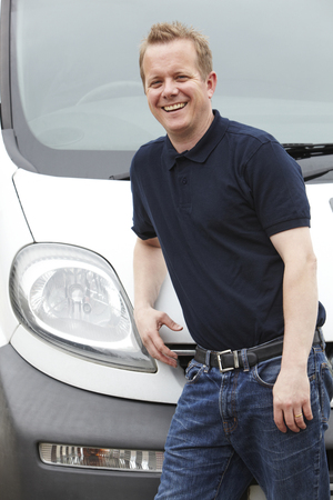 removals: Portrait Of Man With A Van