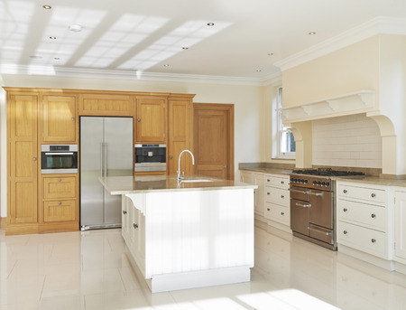 luxury house: Luxury Fitted Kitchen In House