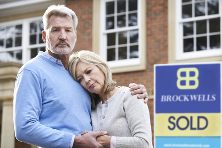 repossession: Mature Couple Forced To Sell Home Through Financial Problems