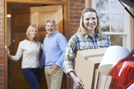 moving out: Adult Daughter Moving Out Of Parents Home