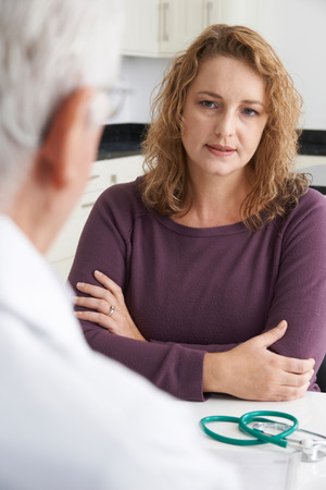binge: Plus Size Woman In Meeting With Doctor