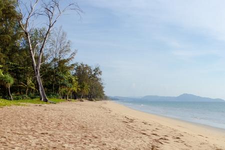 phuket: Deserted beach at Phuket