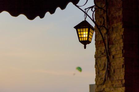 phuket: Old lantern at Phuket