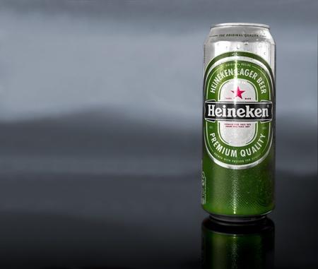 Heineken can