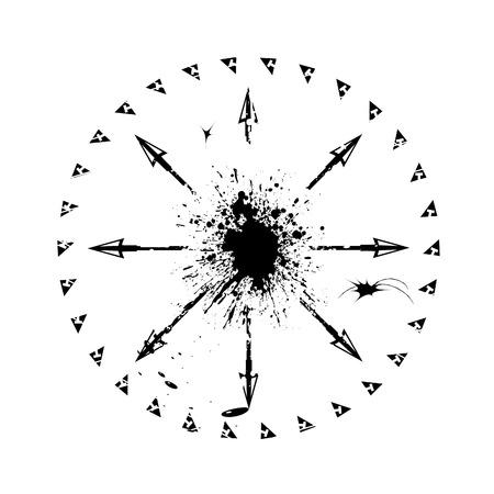 Vector grunge arrow design Stock Vector - 2644865