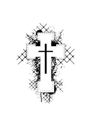 Heavy Cross Illustration