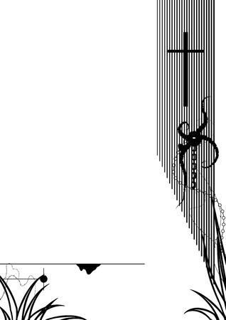 Ink Cross Vector