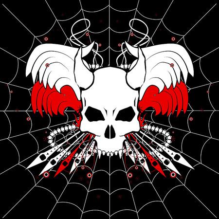 geketend: Web-Skull