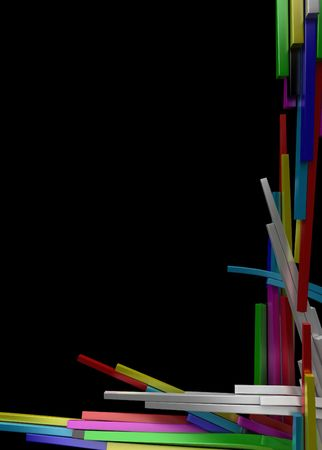 color block: Color Block Growth Background, vertical