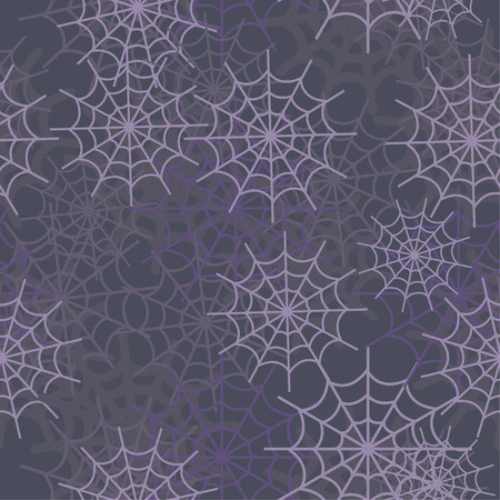 spiderweb: Seamless tile vector spiderweb texture pattern Illustration