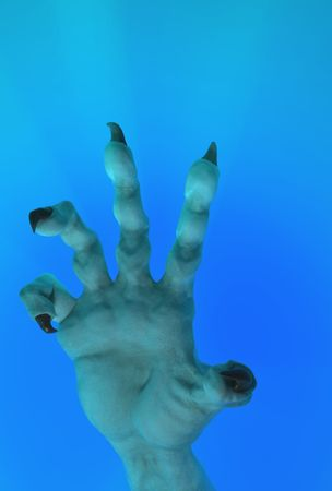 clawed: Clawed sea monster hand model 3d