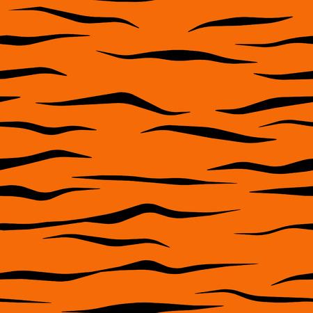 Tiger bande patron tuile