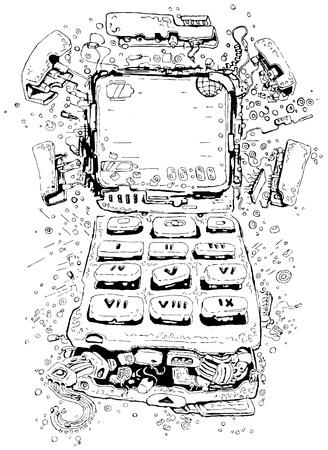 electronics parts: Mobile phone