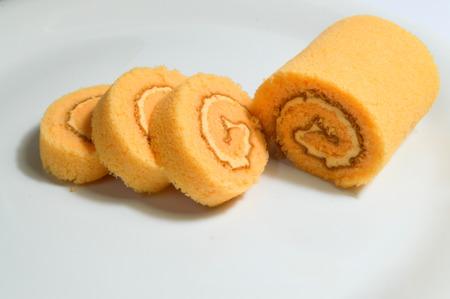 swiss roll: Swiss Roll orange flavor