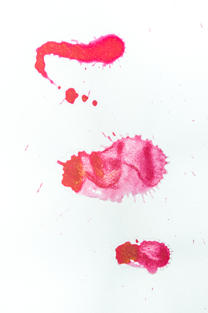 Abstract watercolor background, hand-drawn watercolor on white background Stock fotó