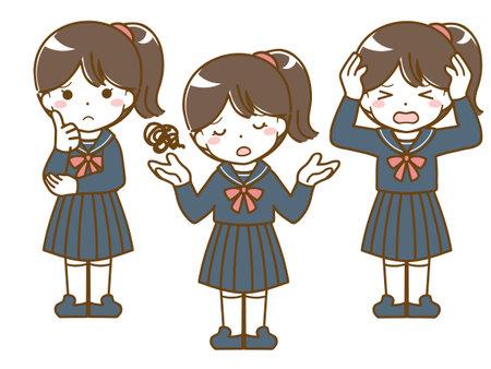 Schoolgirl in need