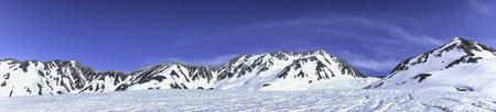 Panoramic Tateyama mountain range