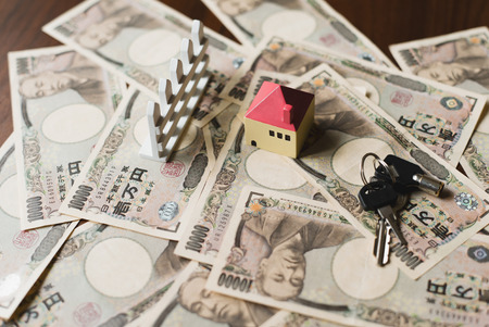 immovable: House and ten thousand yen bills