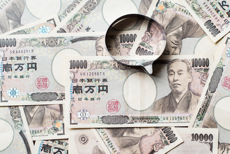 ten: Speech balloon and ten thousands japanese yen