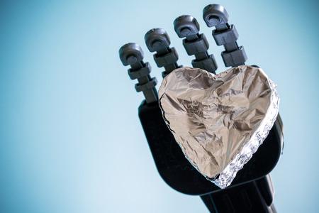 ロボットの冷たい心を保持
