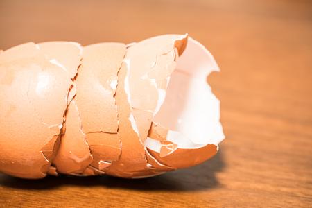 卵の殻 写真素材