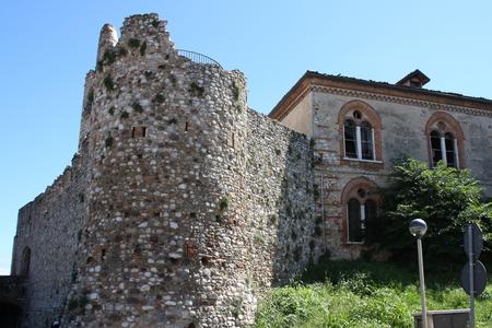 garda: Desenzano Castle, garda lake