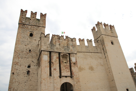 sirmione: scaliger castle in Sirmione Garda lake