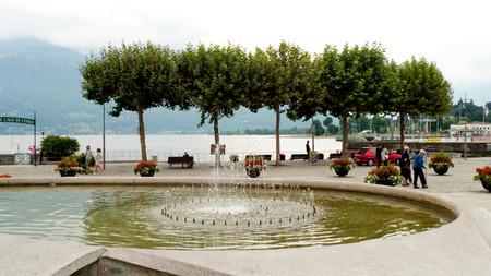 lake como: Colico Lake Como Promenade