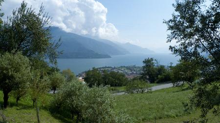 lake como: Gravedona lake como