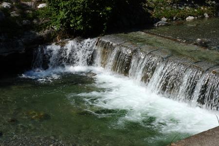 como: river tiro in gravedona at lake como