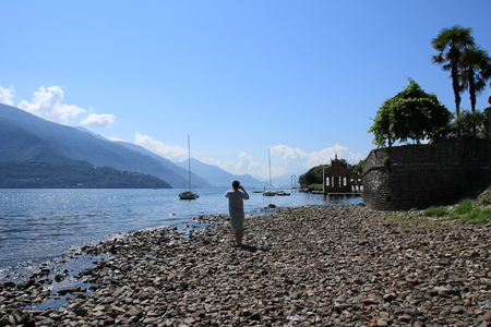 lake como: lake como at gravedona