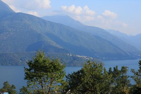 lake como: Olgiasca lake como