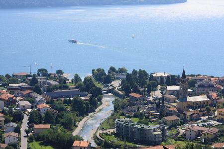 lake como: domaso at lake como