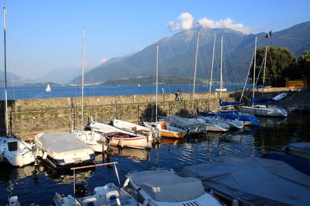 como: Gravedona at lake Como