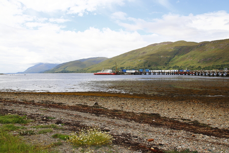 fort: Fort William, Loch Linnhe scotland,
