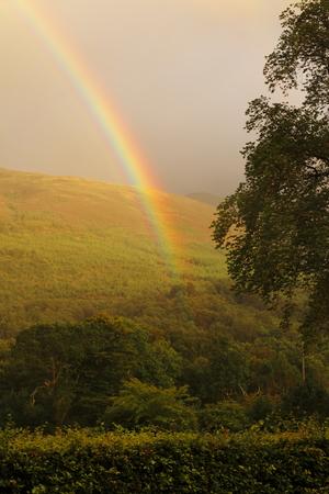 rainbow over Ballachulish