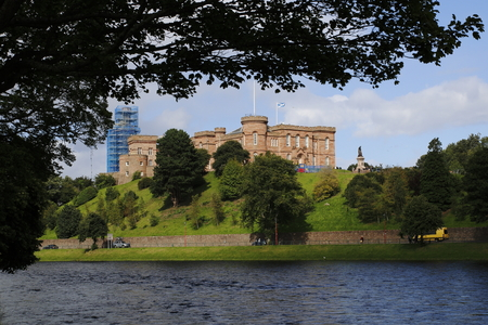 Inverness Castle Ness in the Highlands from Scottland