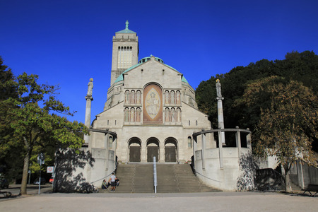 Catholic Church St. Bernard, St. Bernard Church in Baden-Baden, district Weststadt