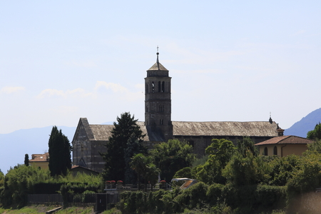 Santa Maria del Tiglio Church, Gravedona, Lake Como, Italy