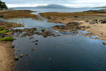 The Old River empties into Loch Ice Resort, Isle of Skye