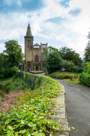 The historic Abbey Church Dunfermline