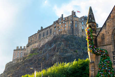 Edinburgh Castle, castle on the castlehill 新闻类图片