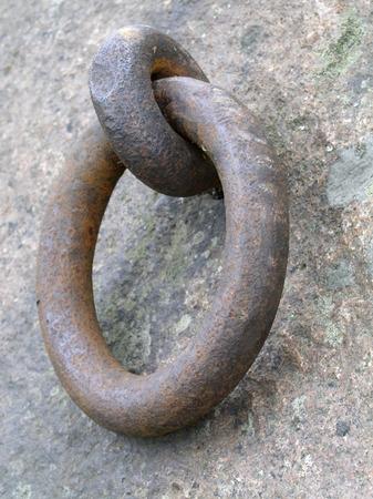 firmeza: anillo oxidado