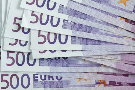 multiple targets: 500 euro note