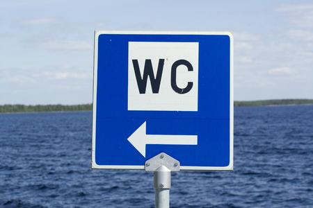 wc: WC Schild Lizenzfreie Bilder