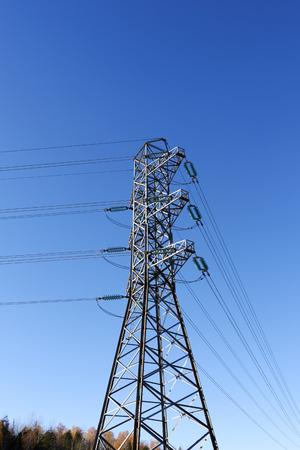 finland: power lines, Finland