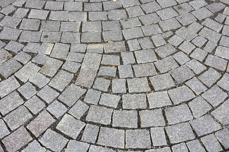 cobblestones: grey cobblestones on ground